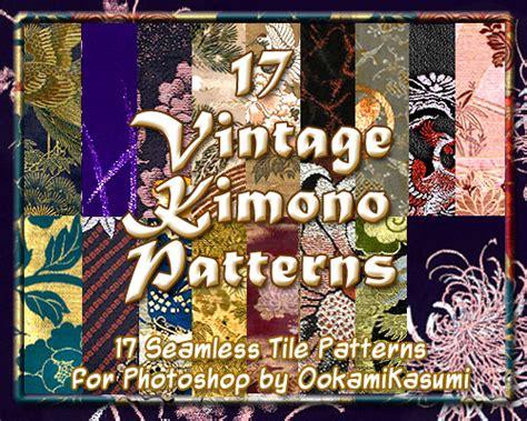 kimono pattern photoshop 17 vintage kimono patterns by ookamikasumi on deviantart