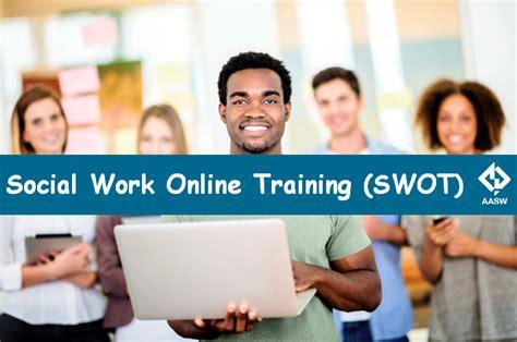 online tutorial work social work online training swot aasw australian
