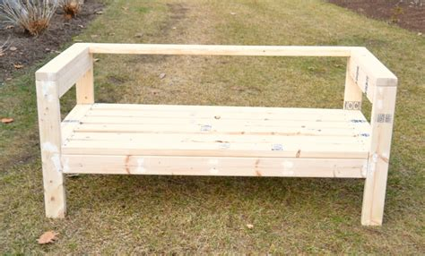 2x4 bench easiest 2x4 bench plans ever i am a homemaker