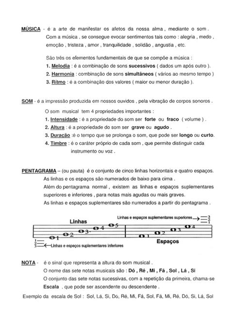 Teoria Musical