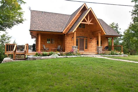 homes hillcrest floor plan the hillcrest log home floor plan by 1867 confederation