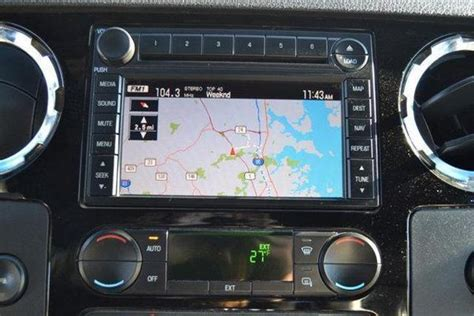ford     superduty gps navigation radio