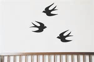 Swallow Wall Stickers Diy Swallows Wall Stickers