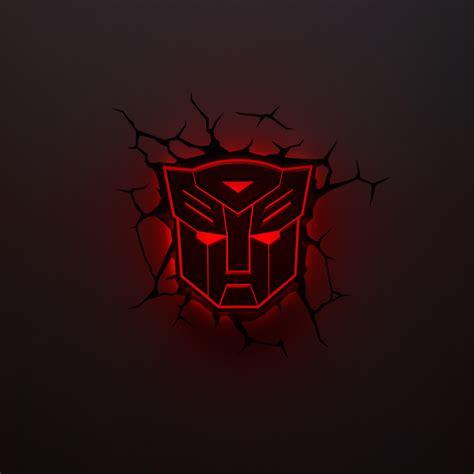 Autobot Logo transformers autobot logo 3d light ikon collectables