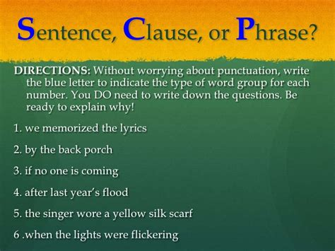 Explanation Letter To Subordinate independent and subordinate clauses