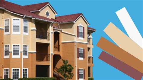selecting exterior paint colors for condos best advice