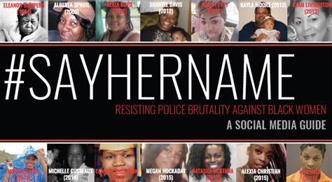 names of black women killed by police in 2015 sayhername brief aapf