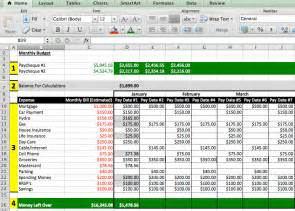 Sample Excel Budget Template Best Photos Of Budget Excel Spreadsheet Excel Budget