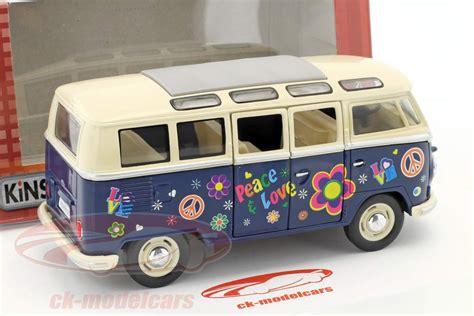 volkswagen hippie blue ck modelcars ck40822 volkswagen vw hippie year 1962