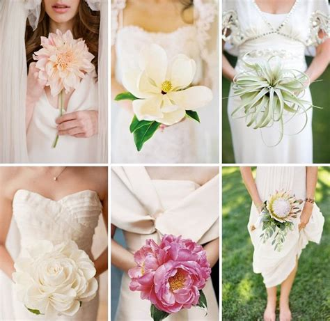 Best Single Stem Flowers Wedding Have You Ever Though About Single Stem Wedding Bouquets