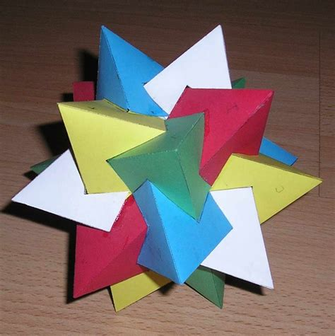 How To Make 3 Dimensional Shapes With Paper - 88 best 3d templates images on molde origami