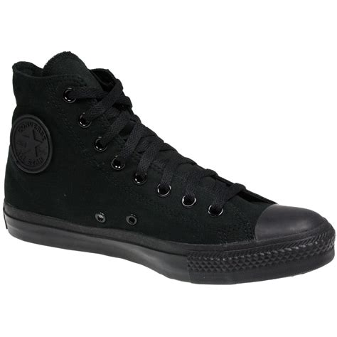 Conversehigh Total Black high top all black converse www imgkid the image kid has it