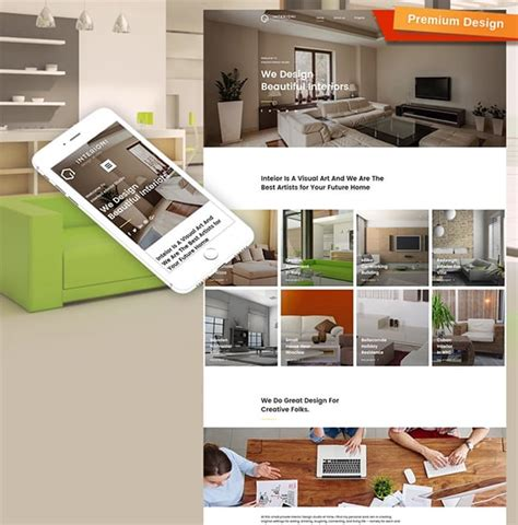 interior designer website interior design website templates will spice up your life