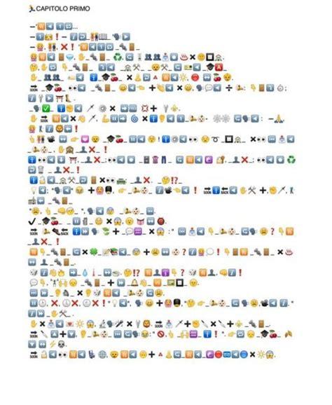 smile testo e traduzione da pinocchio a emojibama ecco le traduzioni in emoji