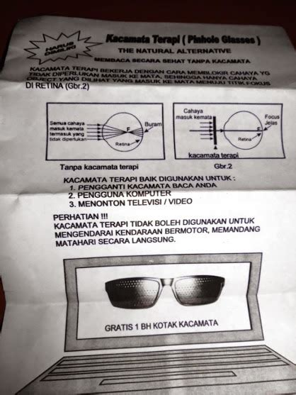 Harga Nutrimax Clear Vision obat mata minus kacamata terapi pengurang min