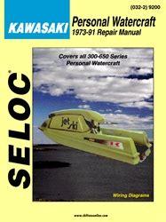 Kawasaki Jet Ski Manuals 300 440 550 650 Jet Mate