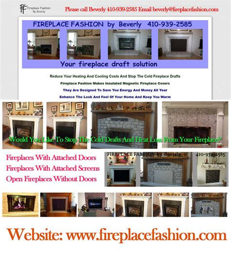 how to stop cold fireplace drafts by firefashionplace on
