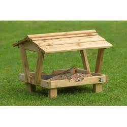 rspb ground table with roof rspb bird feeders rspb shop