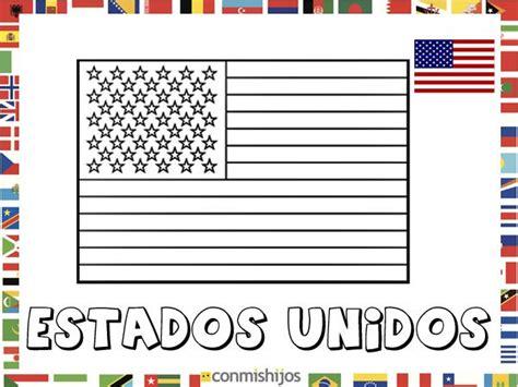 dibujos de banderas del mundo para imprimir bandera de estados unidos dibujos de banderas para pintar