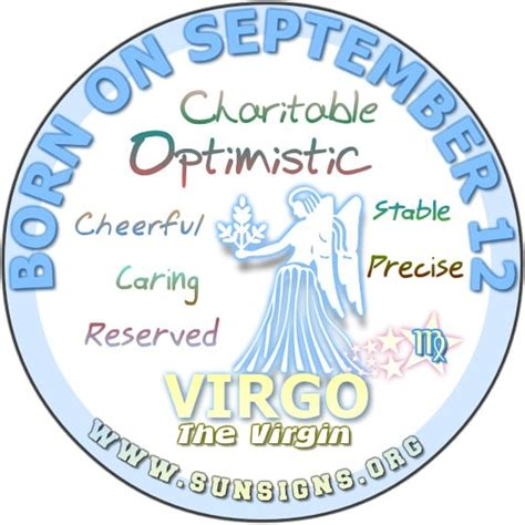 september 12 birthday horoscope personality sun signs