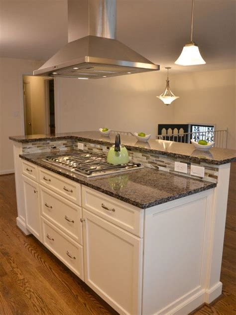 kitchen island designs with cooktop image result for raised seating area kitchen island with