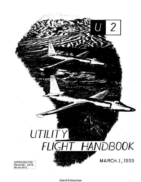 Lockheed U-2 Utility Flight Handbook 1959 U 2 1959