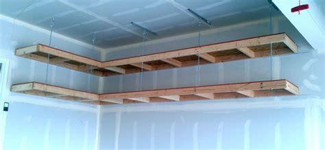 Overhead Garage Storage Diy by Diy Overhead Garage Storage Smalltowndjs