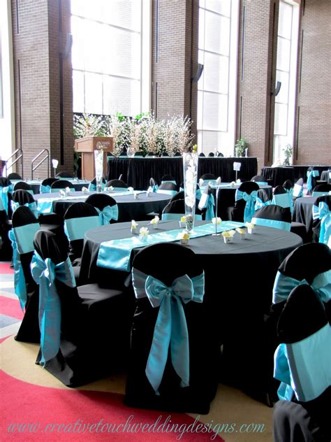 creative touch wedding designs conexus theatre lobby aqua