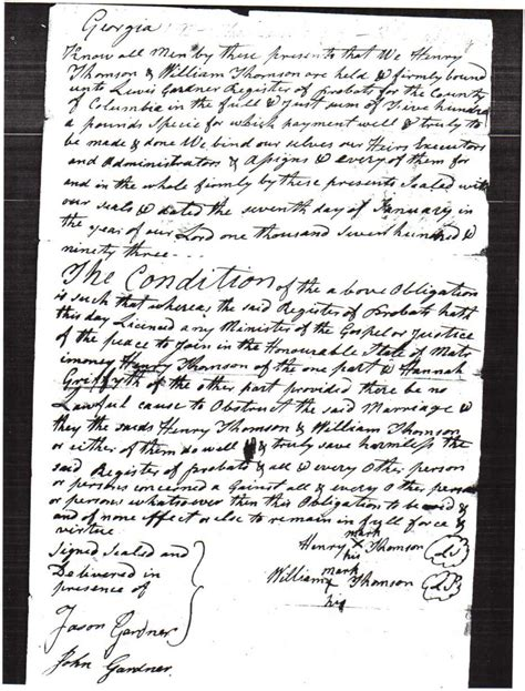 Columbia County Ga Marriage Records Columbia County Usgenweb Archives