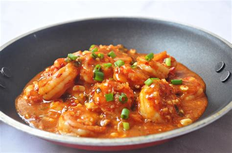 Indian Decorations For Home Szechwan Prawns Recipe Mareena S Recipe Collections