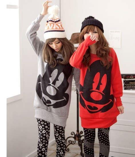 Mickey Katun Sweater Korea Fashion 146 best images about best friends on best