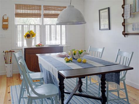beachy dining room tables beachy cottage makes a comeback hgtv