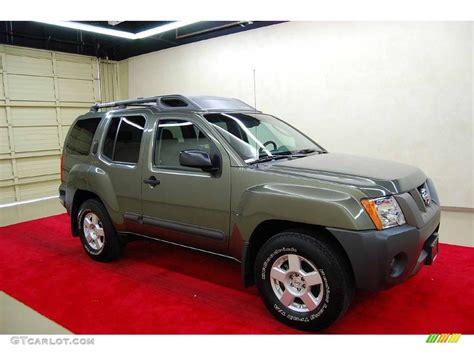2005 canteen green metallic nissan xterra s 4225275 photo 2 gtcarlot car color galleries