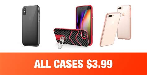 anker deals iphone xs x iphone 7 8 iphone 7 8 plus cases for just 3 99 limited time only