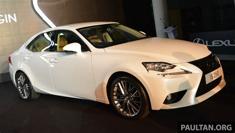 lexus malaysia new lexus is launched four variants from rm270k image