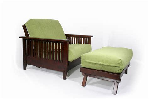 futon chair with ottoman