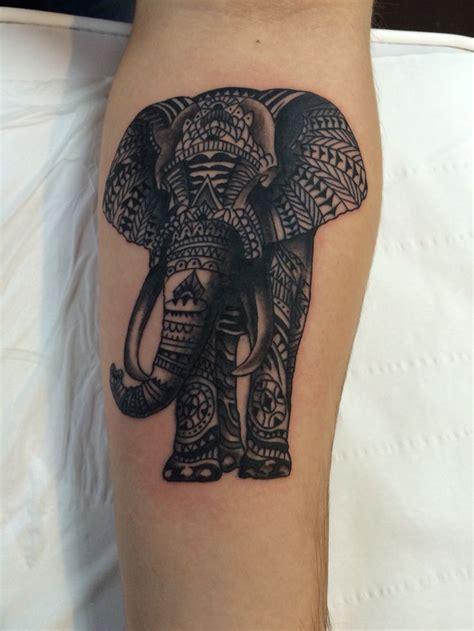 polynesian elephant tattoo best 25 tribal elephant tattoos ideas on