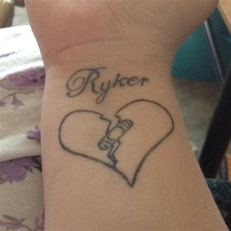 heart disease tattoos designs best 25 disease ideas on