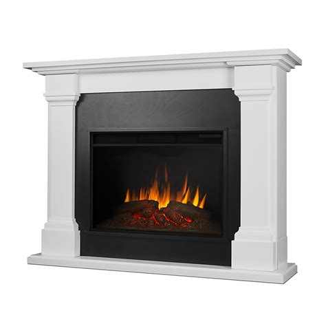 Infrared Electric Fireplace Callaway Grand Infrared Electric Fireplace Mantel Package In White 8011e W