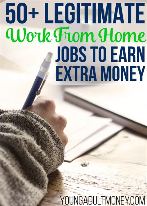 Making Extra Money Online Legitimately - 50 legitimate ways to make extra money at home young adult money
