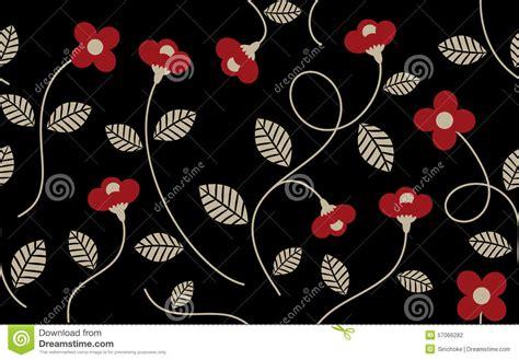 wallpaper flower vintage black vintage flower pattern cartoon vector cartoondealer com