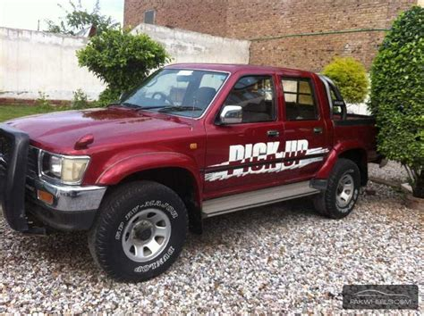Toyota Up 4x4 Toyota Hilux 4x4 D C Up Spec 1996 For Sale In Peshawar