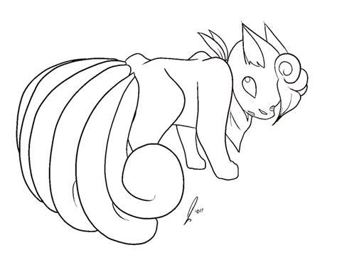 pokemon coloring pages ninetales vulpix and ninetales coloring pages coloring pages