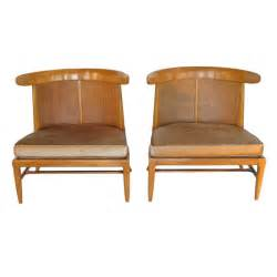 a pair of tomlinson quot sophisticate quot slipper chairs at 1stdibs