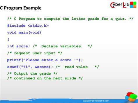 Using An Array Write A Program That Convert Numeric Grade