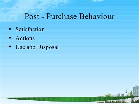 Mba Ppt On Satisfaction by Consumer Behaviour Ppt Bec Doms Bagalkot Mba