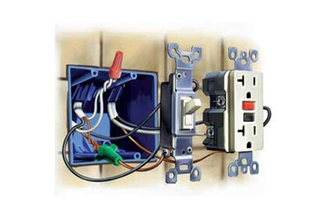 how to upgrade outlets to gfci this house