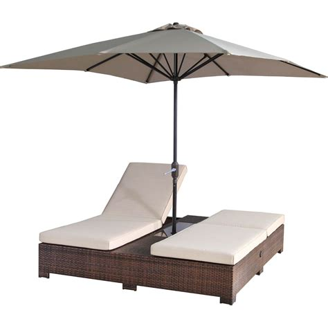 double outdoor chaise sunmate casual portofino outdoor double patio chaise