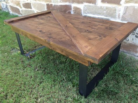 Barn Door Coffee Table Barn Door Coffee Table Rustic Coffee Tables By Rustic Modern Handcrafted Furniture