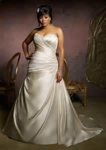 wedding dresses plus size cheap stunning plus size wedding dresses 2015 satin lace cheap applique beaded bridal gowns